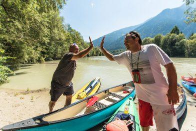 Kanu fahren in Kärnten mit Guide