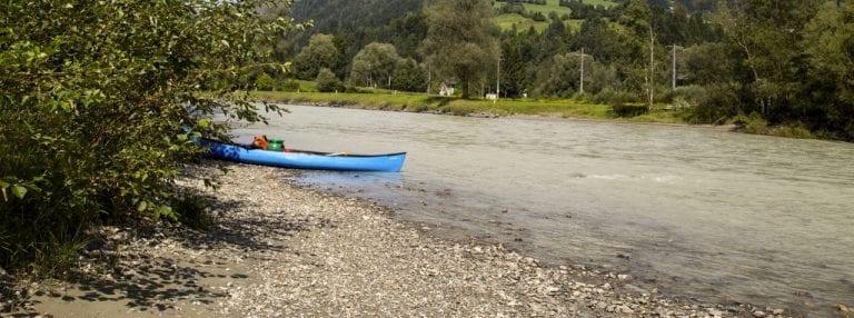 DrauPaddelweg Kärnten Oberkärnten Einstieg